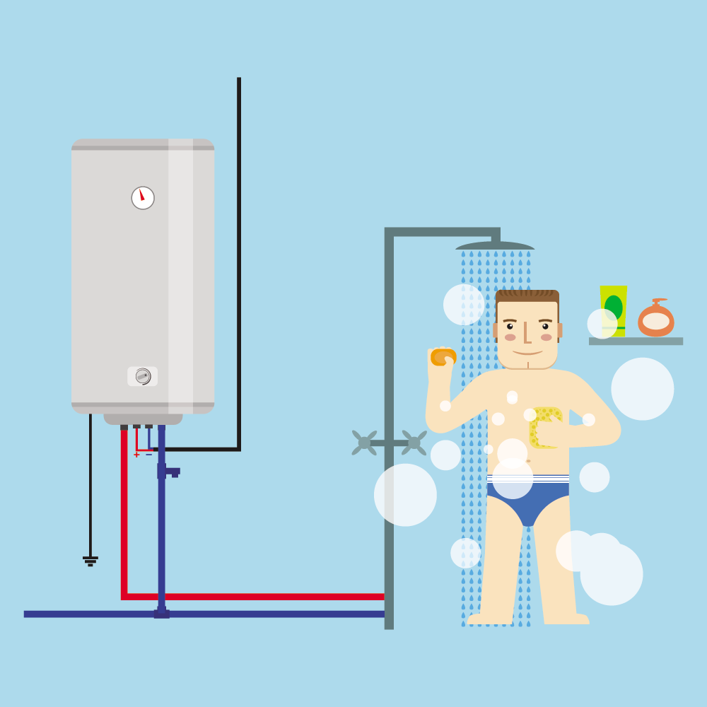 hot water image icon